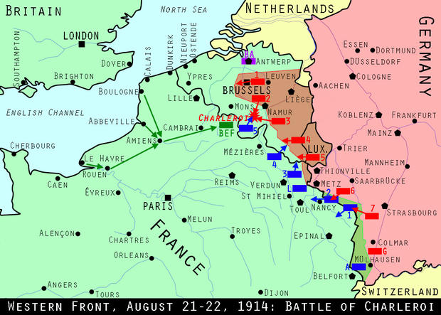 Dan joe malcolm ww1 chapter 4 france on the defensive map western front gumiabroncs Images