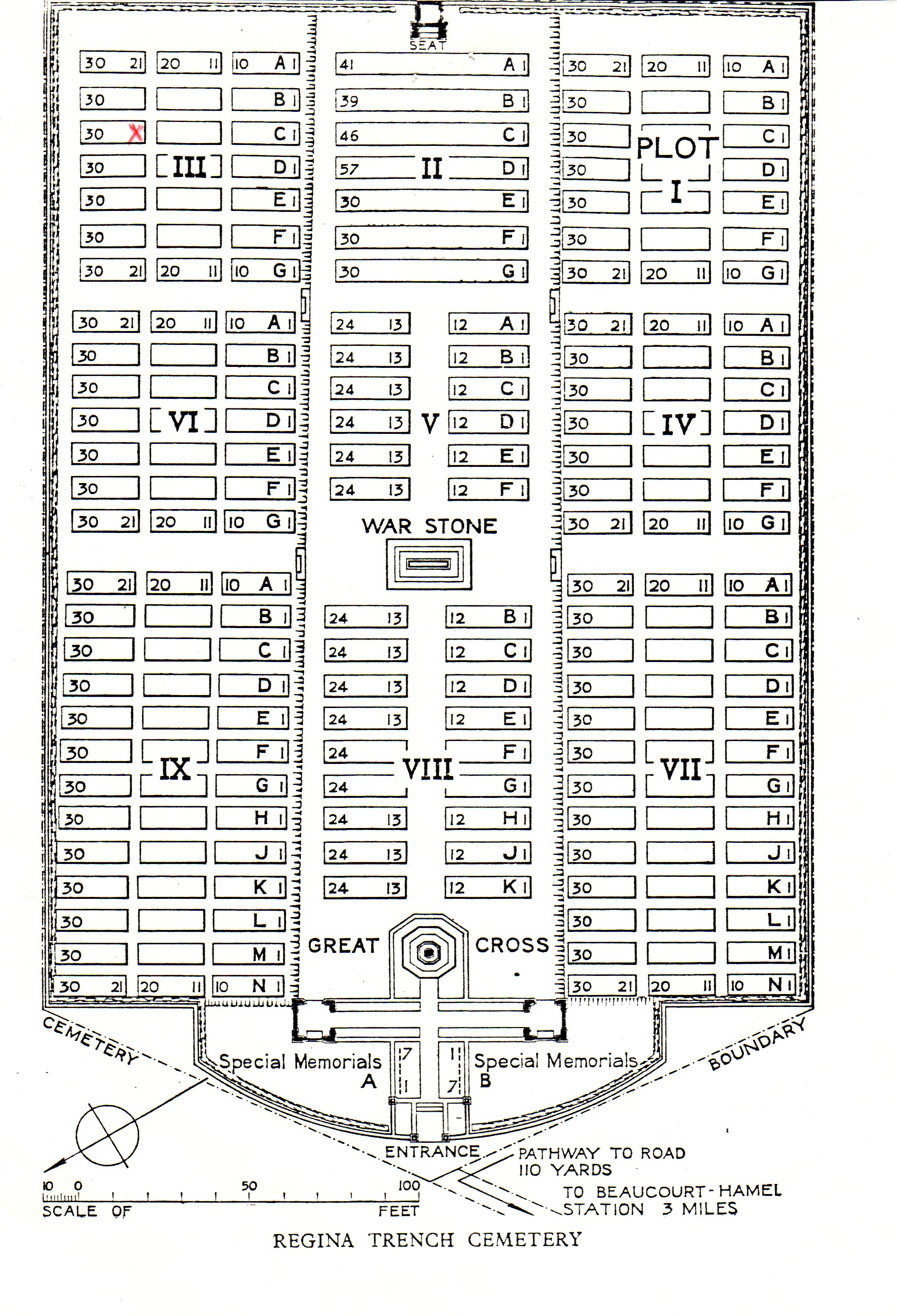 Dan Joe Malcolm Ww1 Notes 02 Wwi Trench Diagram Regina Cemetery